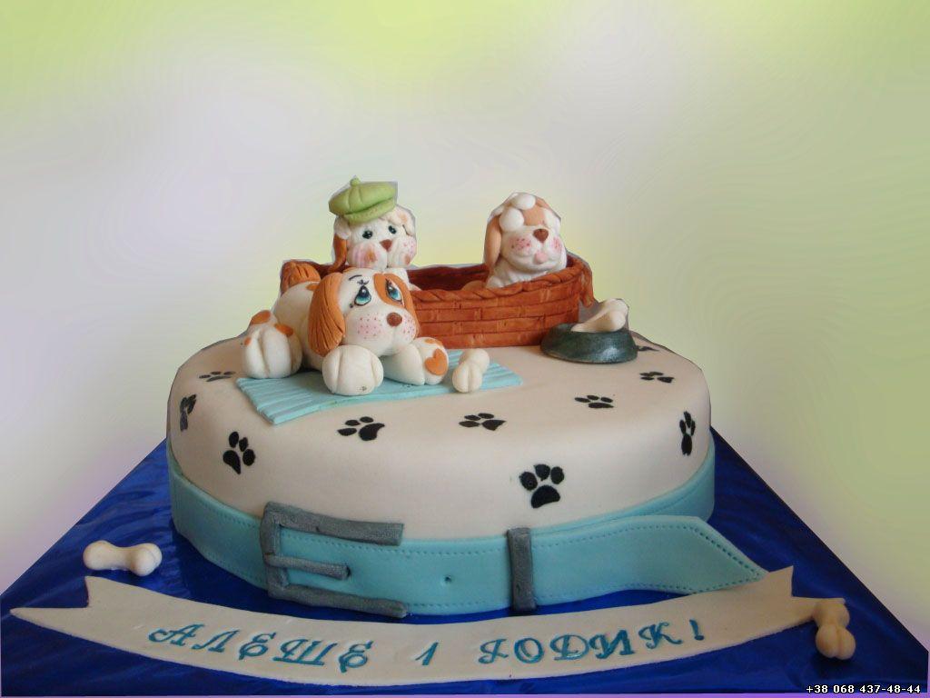 Детские торты с животными фото